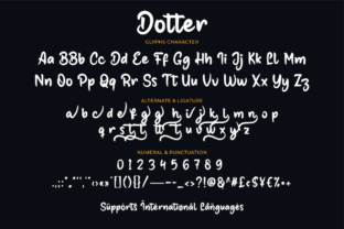Print on Demand: Dotter Script & Handwritten Font By Productype 10