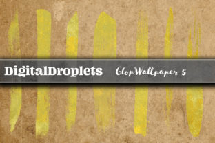 Glop Wallpaper V5 | 400 Brush Strokes Graphic Objects By FlyingMonkies