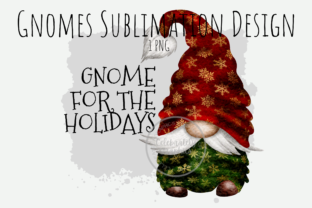 Print on Demand: Gnome for Christmas Sublimation PNG Graphic Illustrations By Celebrately Graphics