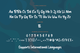 Print on Demand: Godef Script & Handwritten Font By Productype 10
