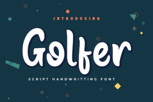 Print on Demand: Golfer Script & Handwritten Font By Productype
