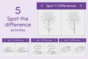 Print on Demand: Mother's Day Games and Coloring Pages Graphic 2nd grade By creativesvg 5