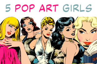 Print on Demand: Pop Art Girls Graphic Illustrations By RosarioResources
