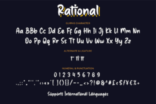 Print on Demand: Rational Script & Handwritten Font By Productype 10