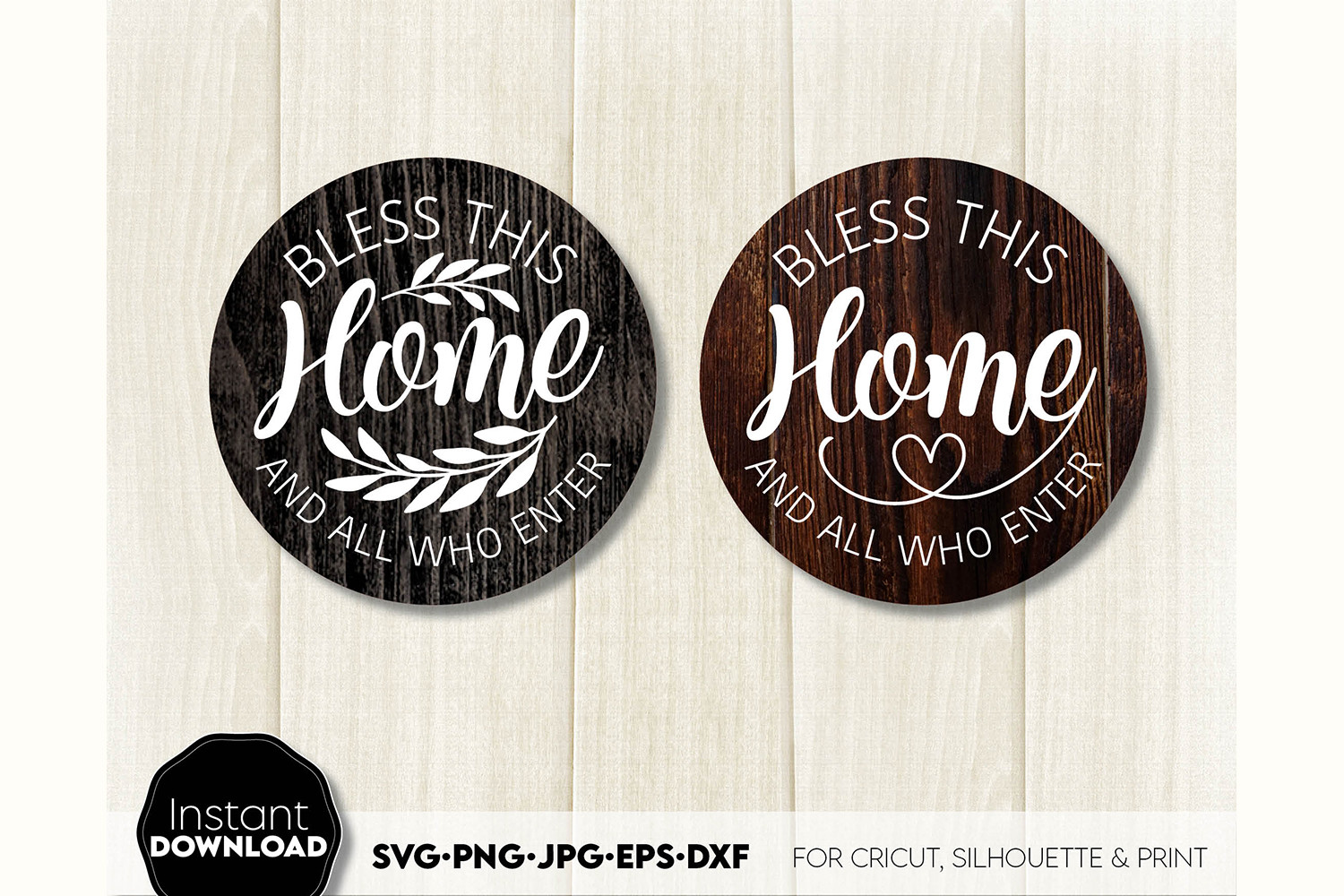 Welcome Sign SVG Farmhouse Sign SVG Two SVG File