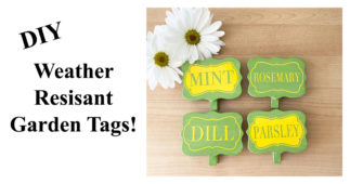 Make Some Weather-Resistant Garden Tags