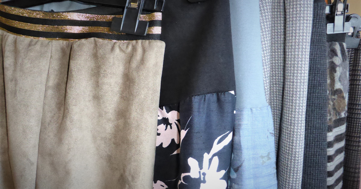 The 2 Hour Skirt: Super Easy Serger Project