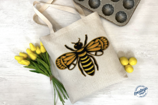 Bee Layered 3D Template for Cricut Graphic 3D SVG By Createya Design 3