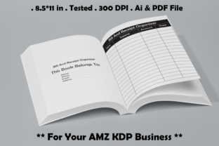 Bill and Receipt Organizer - Kdp Graphic KDP Interiors By Kdp Speed