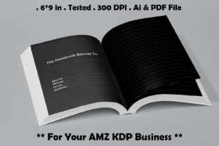 Black Paper Notebook - Kdp Interiors Graphic KDP Interiors By Kdp Speed