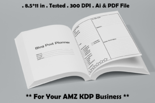Blog Post Planner - Kdp Interiors Graphic KDP Interiors By Kdp Speed
