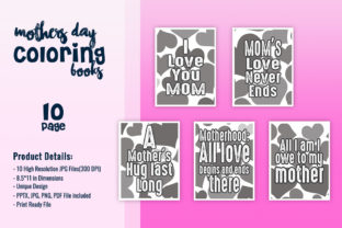 Print on Demand: KDP for Mother's Day Quotes Graphic KDP Interiors By fuad333