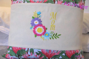 Mothers Day Flowers 1 Mother's Day Embroidery Design By karen50
