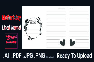 Print on Demand: Mother's Day Journal Graphic KDP Interiors By bengalcanvas
