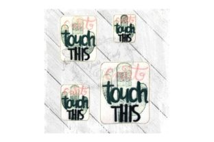 Can't Touch This Cactus Outdoor Quotes Embroidery Design By Yours Truly Designs