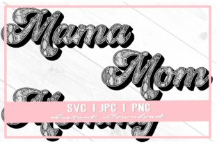 Print on Demand: Mama Gray Snake Skin Mom Mother's Day Graphic Illustrations By thecouturekitten