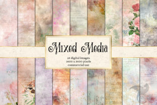 Print on Demand: Mixed Media Textures Graphic Textures By Digital Curio