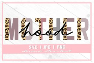 Print on Demand: Motherhood Leopard Print Mother's Day Graphic Illustrations By thecouturekitten