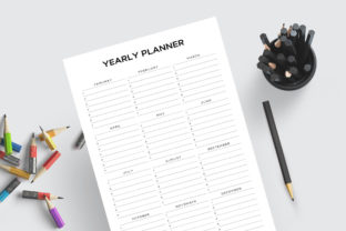 Print on Demand: Printable Happy Life Planner Bundle Pack Graphic KDP Interiors By AmitDebnath 10