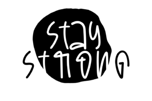 Print on Demand: Stay Strong Graphic Crafts By Creative Zone