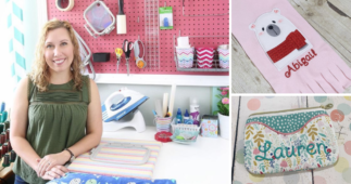 Karlie Belle Has a Passion For Machine Embroidery