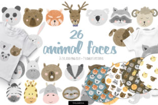 Animal Faces Collection. - 1