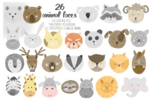 Animal Faces Collection. - 2