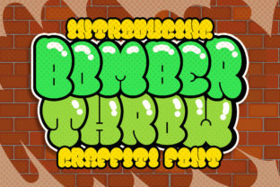 Print on Demand: Bomber Throw Display Font By Blankids Studio