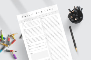 Print on Demand: Daily Weekly Monthly to-Do Planner PDF Graphic KDP Interiors By AmitDebnath 2