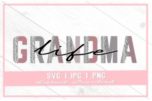 Print on Demand: Grandma Life Snake Print Mother's Day Graphic Illustrations By thecouturekitten