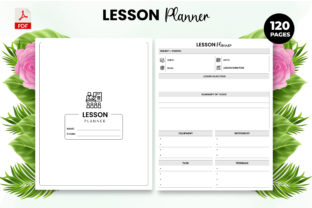 Print on Demand: Lesson Planner - KDP Interior Graphic KDP Interiors By Design invention