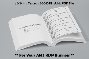 Online Shopping Log Book - Kdp Interiors Graphic KDP Interiors By Kdp Speed