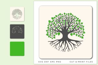 Tree of Life, Tree Cut File, CNC Plan Graphic 3D SVG By 2dooart