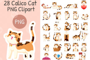 Calico Cat Png Clipart Printable Graphic Illustrations By Jiuu Design