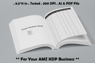 Check Register Book - Kdp Interiors Graphic KDP Interiors By Kdp Speed