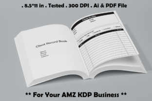 Client Record Book - Kdp Interiors Graphic KDP Interiors By Kdp Speed