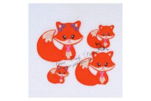 Fox Cutie Wild Animals Embroidery Design By Yours Truly Designs