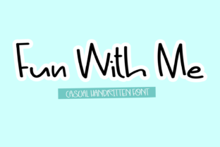Print on Demand: Fun with Me Script & Handwritten Font By Creative Zone