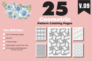 Print on Demand: Geometric Pattern for Coloring Pages-KDP Graphic Coloring Pages & Books Adults By ivect