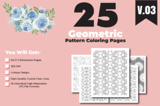 Print on Demand: KDP-Coloring Pages by Geometric Pattern Graphic Coloring Pages & Books Adults By ivect