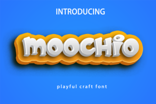 Print on Demand: Moochio Display Font By Brothergrounds 1