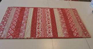 How to Make a Quilt-as-you-go Table Runner