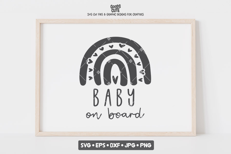 Baby on Board SVG File
