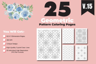 Print on Demand: Geometric Pattern Color Pages for Design Graphic Coloring Pages & Books Adults By ivect 2