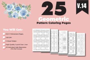 Print on Demand: Geometrical Pattern Coloring Page Design Graphic Coloring Pages & Books Adults By ivect 2
