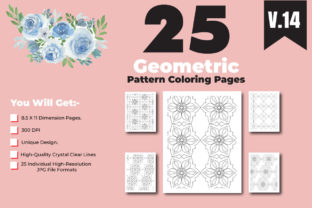 Print on Demand: Geometrical Pattern Coloring Page Design Graphic Coloring Pages & Books Adults By ivect 3