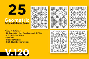 Print on Demand: KDP Printable Geometric Pattern Graphic Coloring Pages & Books Adults By Riduwan Molla 1