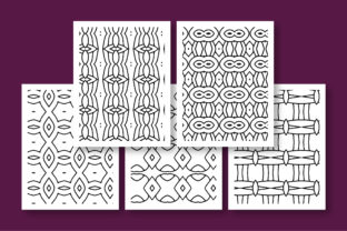 Print on Demand: KDP Printable Geometric Pattern Graphic Coloring Pages & Books Adults By Riduwan Molla 3