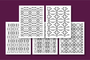 Print on Demand: KDP Printable Geometric Pattern Graphic Coloring Pages & Books Adults By Riduwan Molla 4