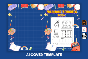 Print on Demand: Number Tracing Book for Preschoolers-kdp Graphic KDP Interiors By Kristy Coloring 2
